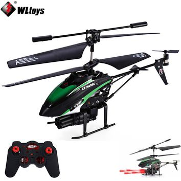 RC Helicopter 3.5 CH Missiles Launching IR Remote Control Helicopter with Gyro/LED Light
