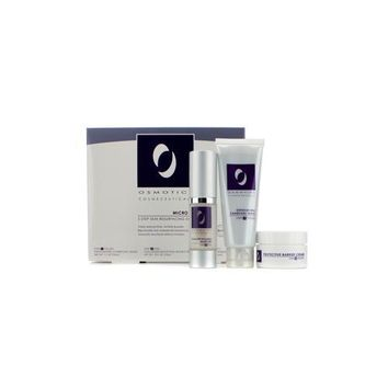 Micro Peel Skin Resurfacing System: Exfoliating Charcoal Mask 50ml/1.7oz + Collagen Boosting Micro Peel 15ml/0.5oz + Protective Barrier Cream 15ml/0.5oz 3pcs