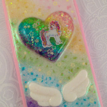 Lisa Frank Rainbow Horse iPhone 6 DecoDen Resin Phone Case