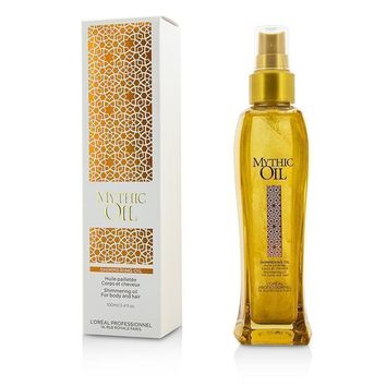 Professionnel Mythic Oil Shimmering Oil (For Body and Hair) - 100ml-3.4oz