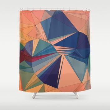 Everything is Everything Shower Curtain by Ducky B