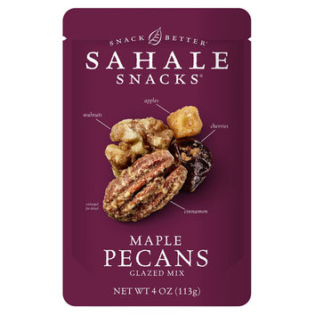 Sahale Snacks Maple Pecans Glazed Mix 4 oz Bags - Single Pack
