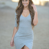 Tulip Dress - Grey