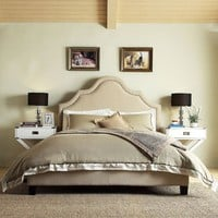 HomeVance Crestlake Bed Frame - Queen