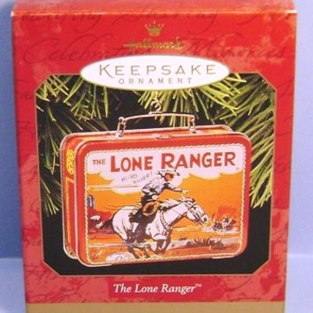 1997 The Lone Ranger Hallmark Retired Ornament