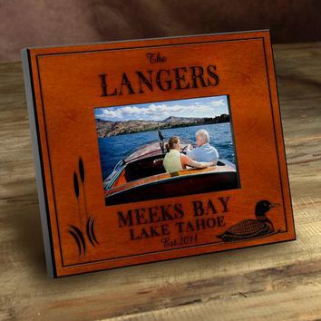 Cabin Series Picture Frames - Loon