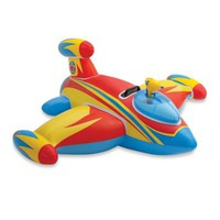 Water Gun Space Ship Ride-On Pool Float