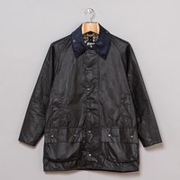 Barbour Beaufort Jacket (Navy) | Oi Polloi