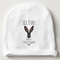 All Ears Baby Design by Kat Worth Baby Beanie