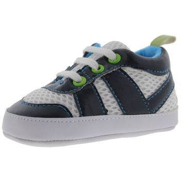 Luvable Friends Infant Mesh Athletic Shoes
