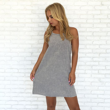Skies Are Grey Dress