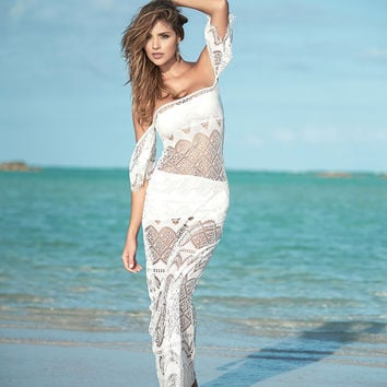 Beautiful Ivory Maxi Dress-Resort Dress