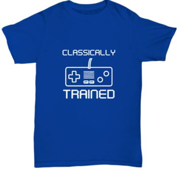 Classically Trained Video Game Controller For Gamers T-Shirt