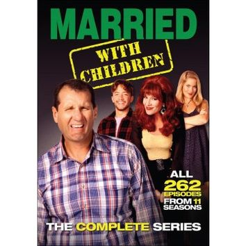 Married... With Children: The Complete Series [21 Discs] (DVD)