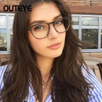 Optical Eyeglasses Retro Vintage Clear Eye Glasses Frames For Women Myopia Spectacles Fake Eyewear Transparent Computer Glasses