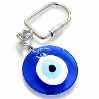 Evil Eye Protection Keychain And Blessing