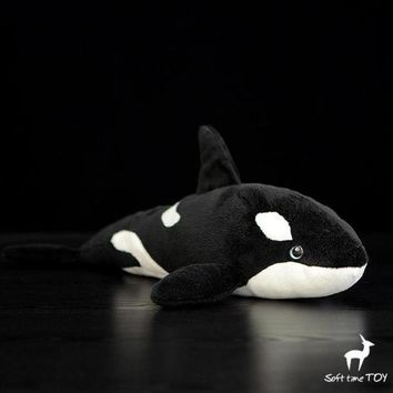 Killer Whale Stuffed Animal Plush Toy 15""