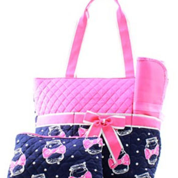 Mason Jar Diaper Bag - 2 Color Choices