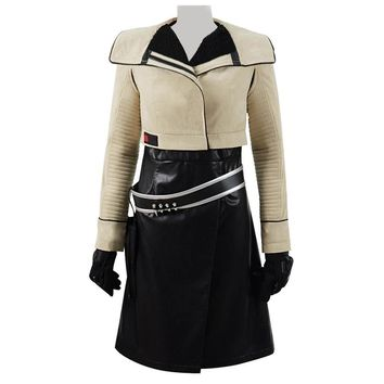 Cool Solo A Star Wars Story Qi'Ra Cosplay Costume Suit Women Dress Jacket Qira Full Set CosdaddyAT_93_12