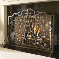 Limited Edition Louviere Fire Screen - Frontgate