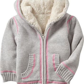 Hooded Sweater Coats for Baby