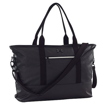 Under Armour UA Premier Tote | Women's - Black/Black/Metallic Pewter