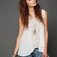 Free People Free People FP ONE Crochet Tank