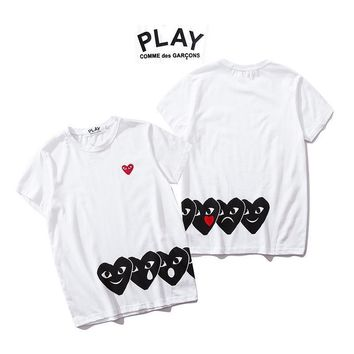Stylish Couple Short Sleeve T-shirts [2162533728310]