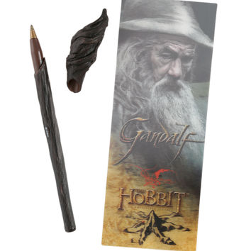 The Hobbit: An Unexpected Journey Gandalf Staff Pen And Bookmark