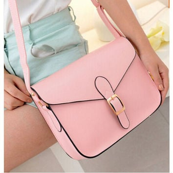 Women's high quality handbag messenger bag preppy style female vintage envelope bag shoulder bag briefcase Sale