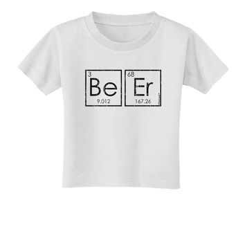 Be Er - Periodic Table of Elements Toddler T-Shirt by TooLoud