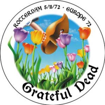 Grateful Dead - Rotterdam, Europe '72 Magnet