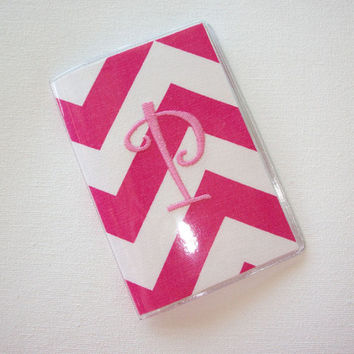Passport Cover / Holder / Case - Chevron - Zig Zag - ZigZag - design  your own chevron zig zag custom monogram Personalized