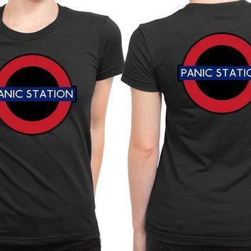 The Muse Panic Station 2 Sided Womens T Shirt