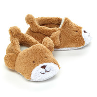 Brown Bear Slippers - Kids