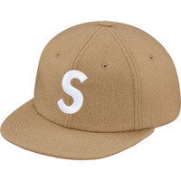 Supreme: Wool S Logo 6-Panel - Tan