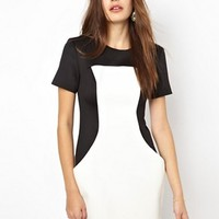 Finders Keepers Monochrome Overtime Dress