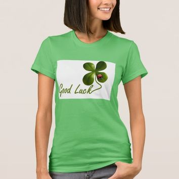 Good Luck four-leaf clover Women's T-Shirt