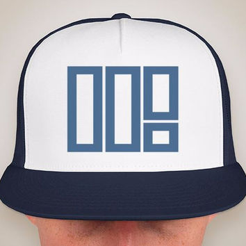 5SP - TOO ILL TRUCKER HAT (NAVY BLUE)
