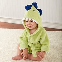 Adorable Baby Spa Robe (Monogram Available) - Dinosaur
