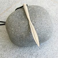Silver Arrow Necklace, Mens Pendant, Wild and Free, Archery Jewelry, Sterling Silver Spear Charm