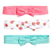 H&M 3-pack Hairbands $6.95