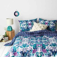 Plum & Bow Aurora Washed Flower Duvet Cover- Multi F/Q