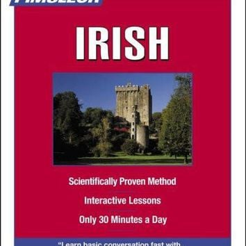 Irish, Compact: Learn to Speak and Understand Irish (Gaelic) With Pimsleur Language Programs (Basic)