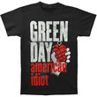 Green Day Men's  Smoke Screen T-shirt Black