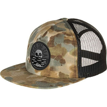 Roark Revival Fear the Sea Trucker Hat Camo, One Size