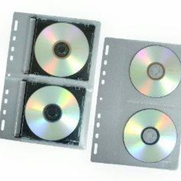Fellowes, Inc. Each Fellowes Cd/dvd Binder Sheet Holds 2 Cds/dvds In Jewel Cases. Loose-leaf Vi
