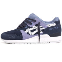 Gel-Lyte III 'Granite' Sneakers Indian Ink / White