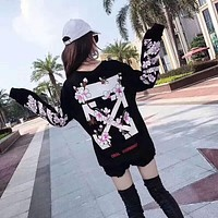 OFF-WHITE 17SS Sakura Sweater  F-CN-CFPFGYS