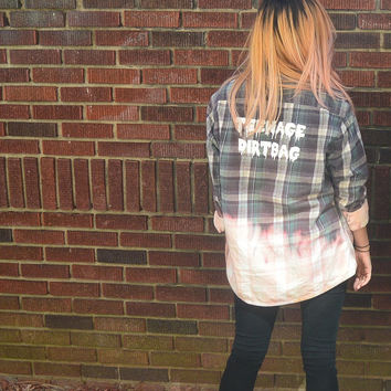 Teenage Dirtbag Flannel (handwash only)